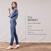 Levi's Women's 711 Skinny Jeans 5