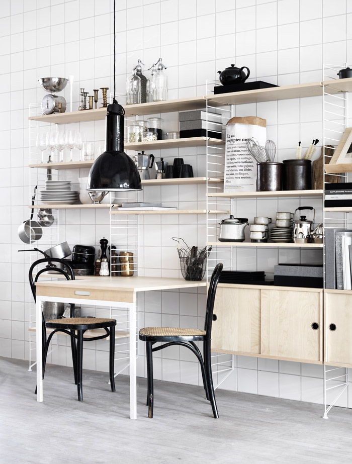String-shelving-kitchen