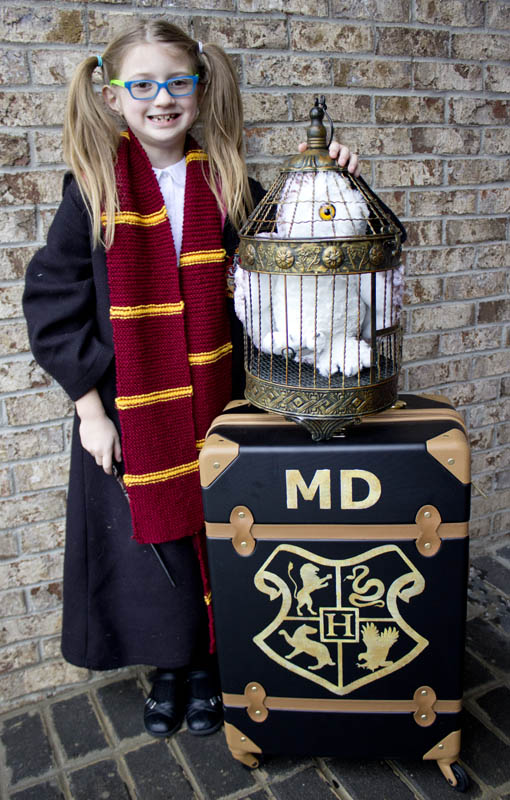 Harry Potter School Trunk DIY Chica And Jo
