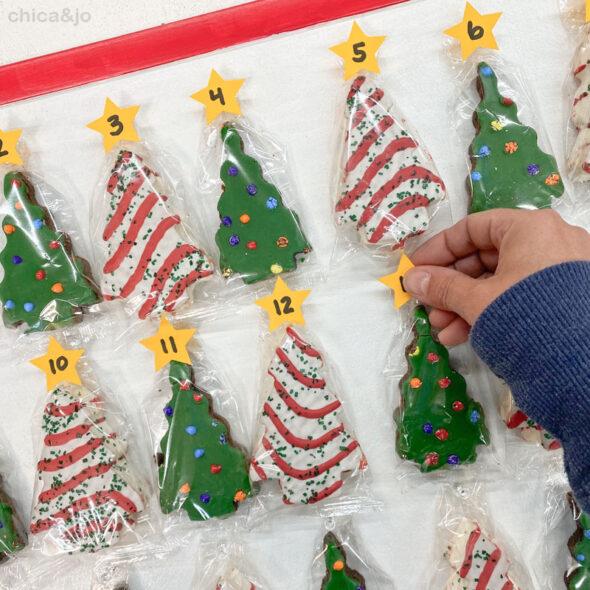 little debbie christmas tree cake advent calendar 11