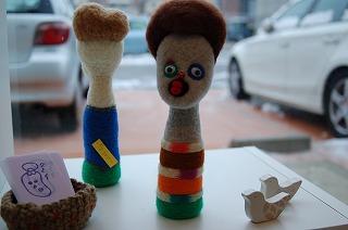 羊毛人形・その2♪