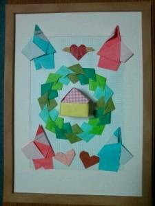 出展した折り紙作品♪