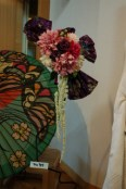 和傘とお花♪
