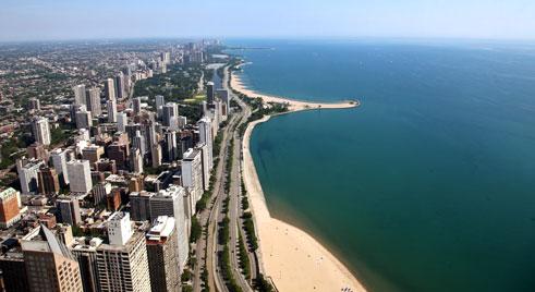 """Résultat de recherche d'images pour """"chicago face au lac"""""""