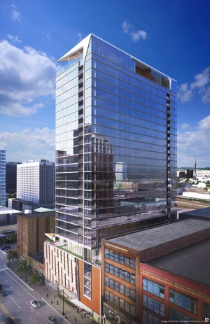 Rendering of 1136 South Wabash