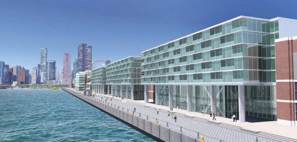 Navy Pier expansion rendering (Courtesy of Navy Pier)