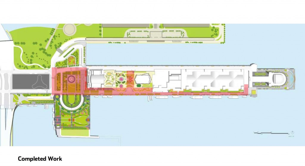 Navy Pier expansion diagram (Courtesy of Navy Pier)