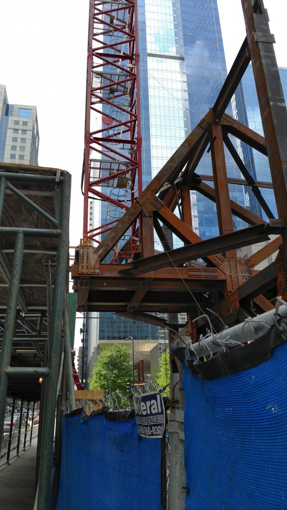 151 North Franklin under construction (Courtesy of Loop Spy Chris)