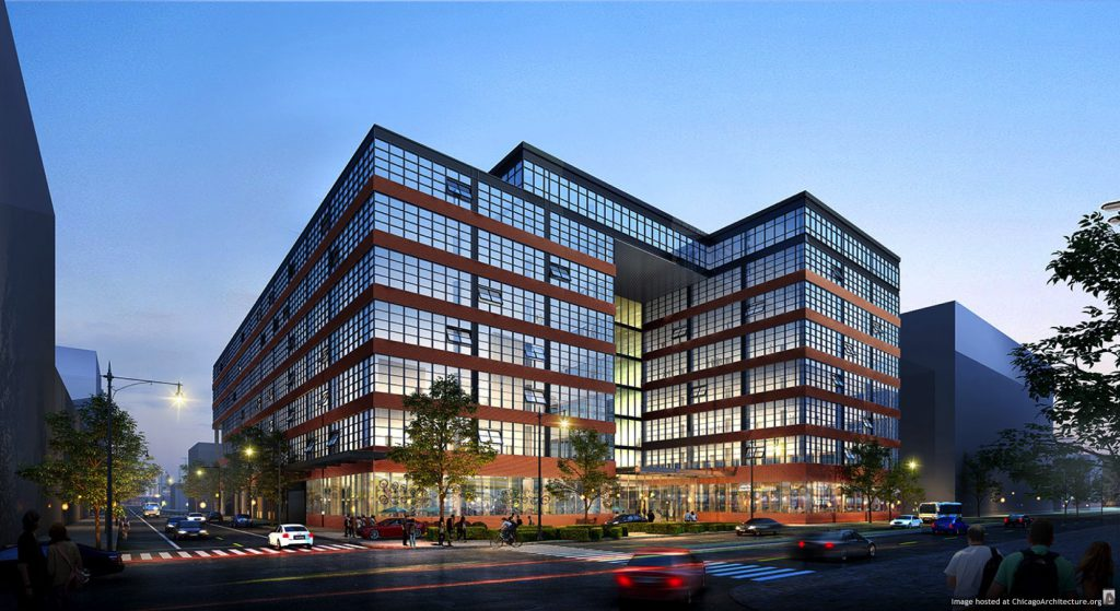 Rendering of 845 West Madison (Courtesy of The John Buck Company)