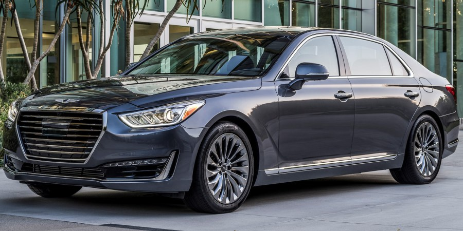 2018   Genesis   G90   Vehicles on Display   Chicago Auto Show 2018 Genesis G90