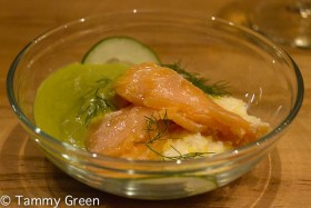 Salmon Under the Table