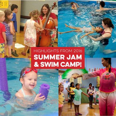 Summer camp| Swimming | Music | Chicago Blue Dolphins | Merry Music Makers