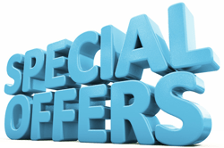 Special offer, save money, coupon on swim classes