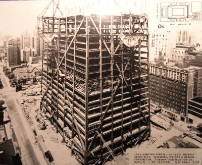 John Hancock frame 1960s