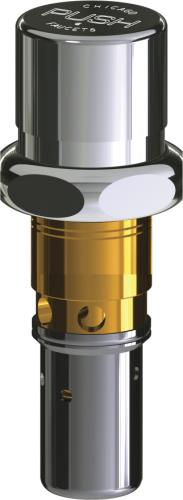 naiad metering cartridge with fast cycle time closure and push index