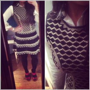 bcbg-dress-ootd