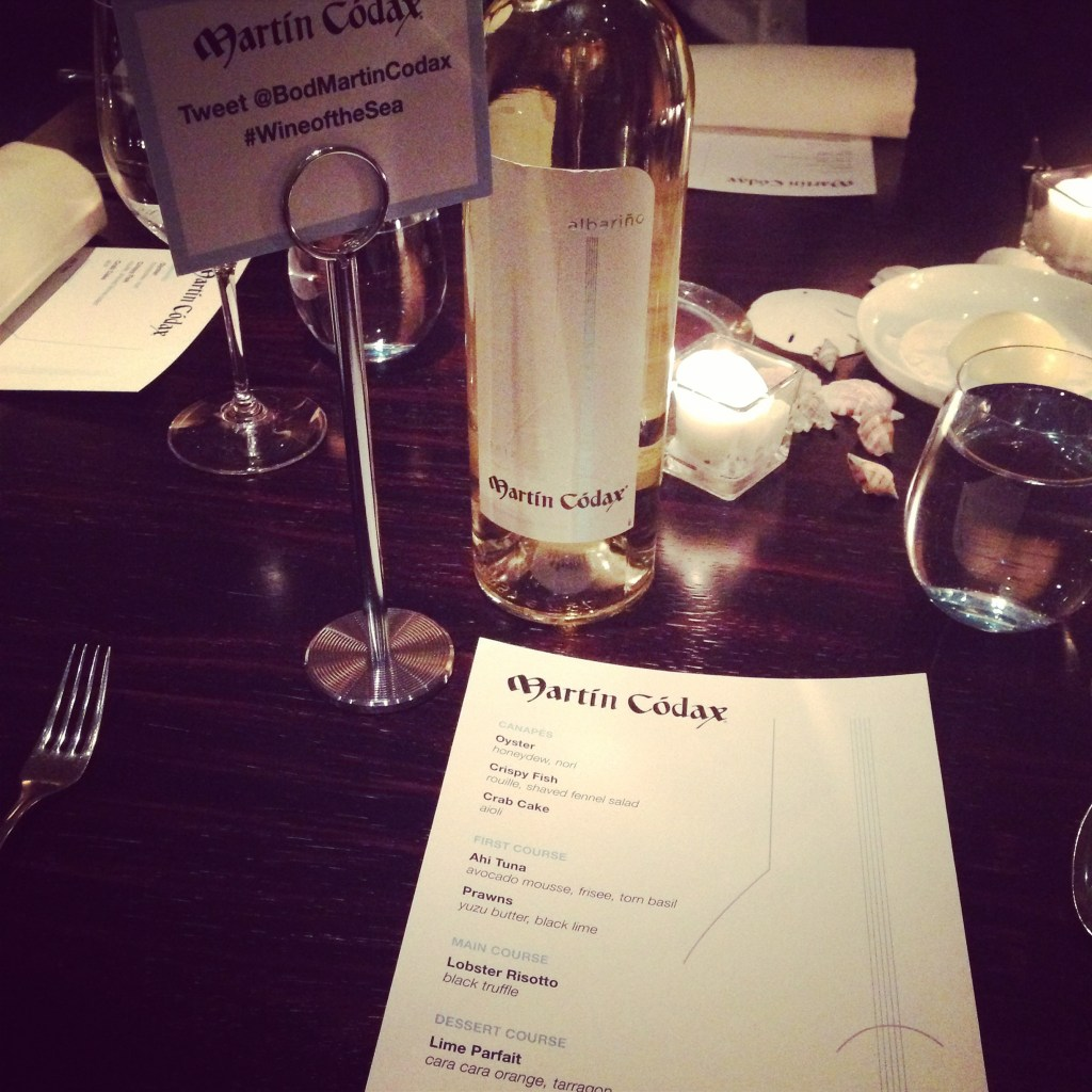 Martín Códax Private Wine Pairing Dinner Event at 2-Star Michelin's L2O in Lincoln Park