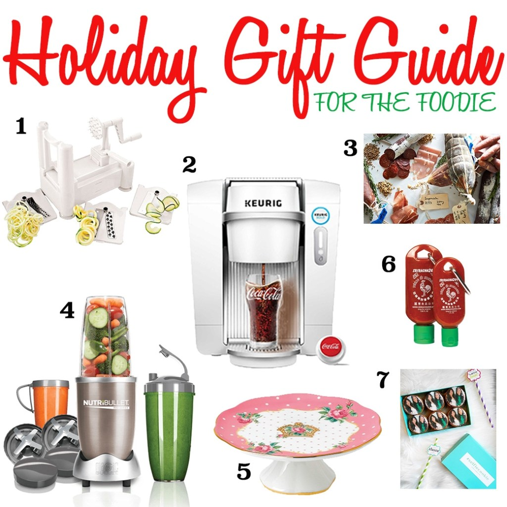 2015 FOODIE'S HOLIDAY GIFT GUIDE