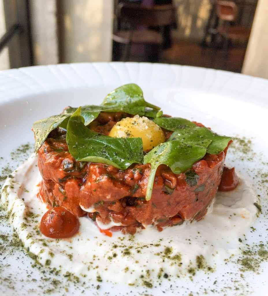 Steak tartare-salero