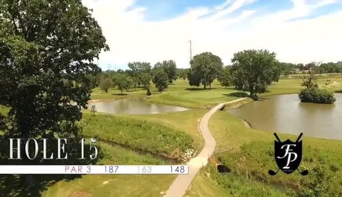 Foss Park Golf Course - 15th Hole