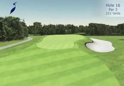 Crane's Landing Golf Club - 16th Hole