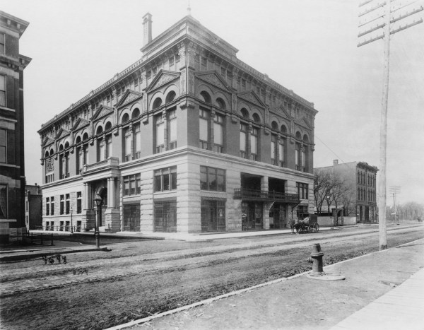 Photograph of exterior of Germania Club Building