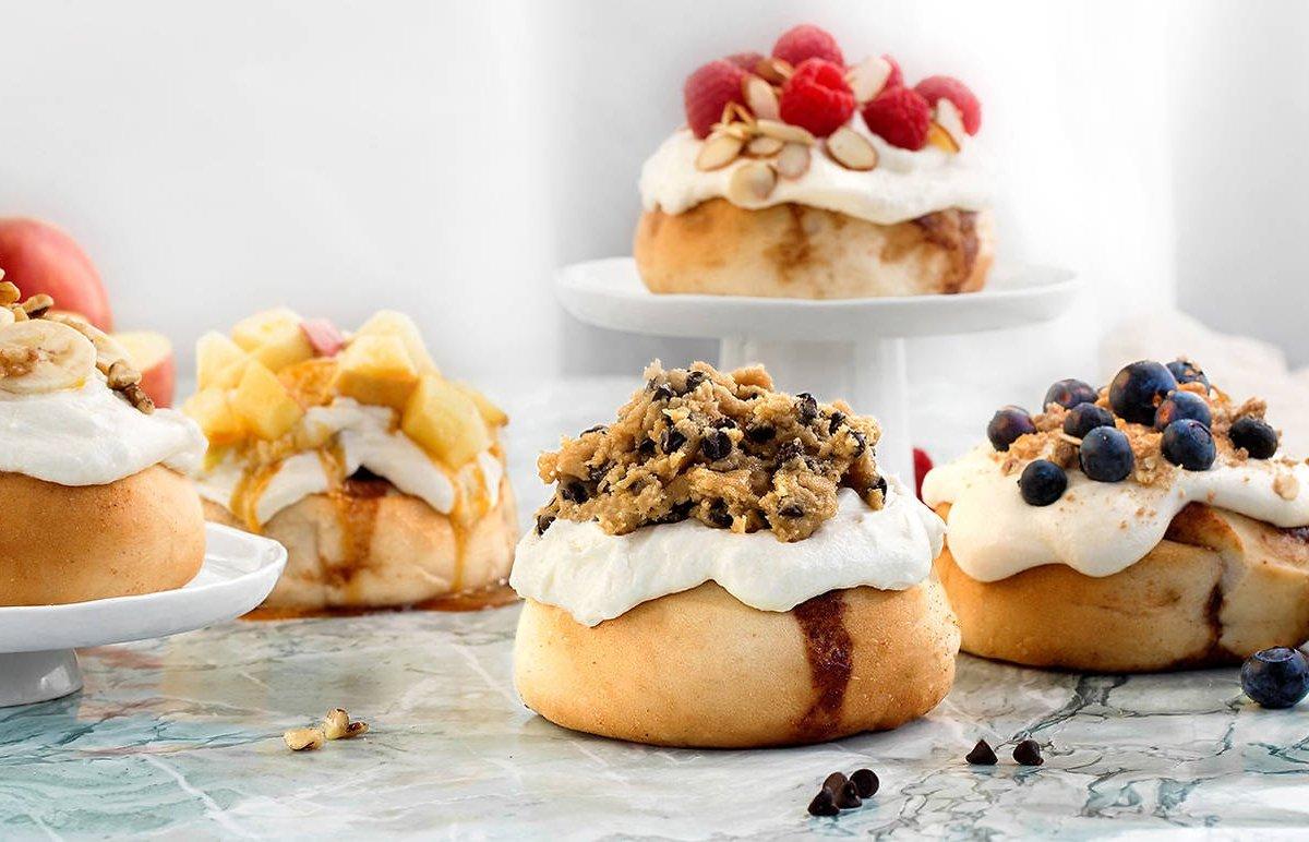 افتتاح مخبز مخصص للفائف القرفة في «ويكر بارك»