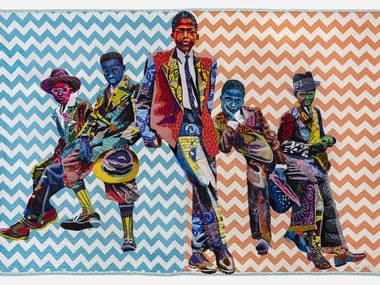 معرض «Bisa Butler: Portraits» لفنون النسيج
