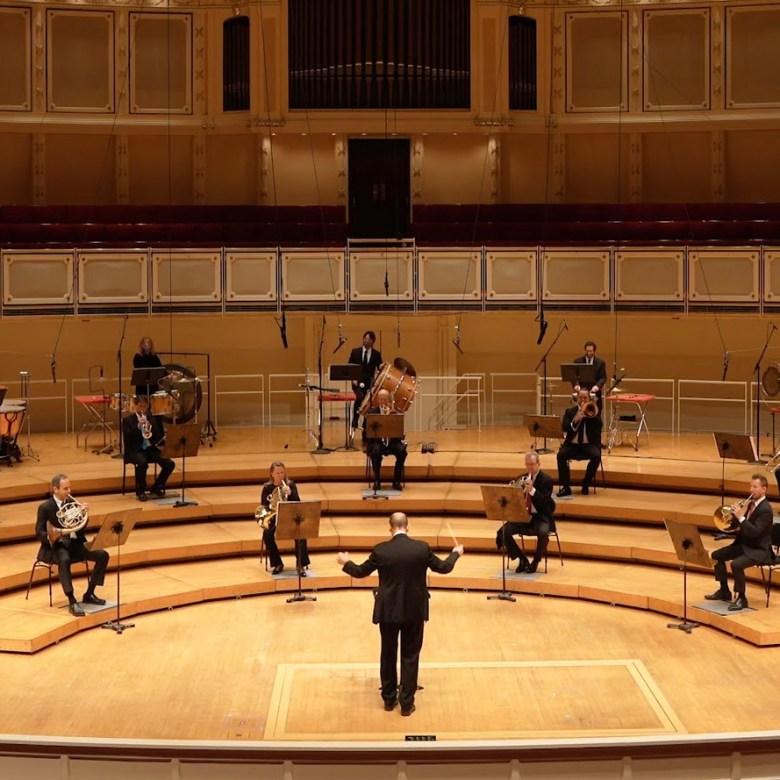 أوركسترا شيكاغو السيمفونية تستأنف حفلاتها الموسيقية ذات الحضور الشخصي