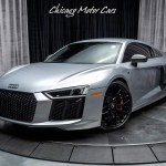 Used 2017 Audi R8 Coupe V10 Plus Carbon Fiber Audi Care Black Factory Wheels For Sale Special Pricing Chicago Motor Cars Stock 17083