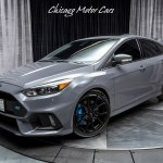 Used 2016 Ford Focus Rs Hatchback Rs2 Package Borla Exhaust Awd 6 Speed Manual For Sale Special Pricing Chicago Motor Cars Stock 16230