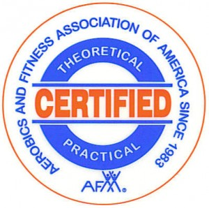 An AFAA-Certified instructor is one who is highly skilled because there is a written and practical component to gain certification.