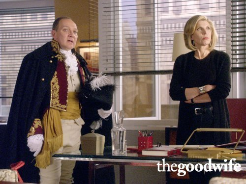 "The Good Wife: ""Alienation of Affection"" - Zach Grenier, Christine Baranski"