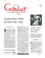 Catalyst Chicago issue cover, published Jun 1996
