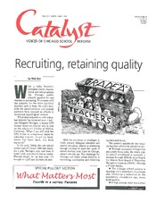 Catalyst Chicago issue cover, published Mar 1998