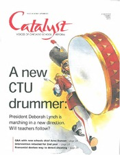 Catalyst Chicago issue cover, published Sep 2001