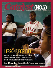 Catalyst Chicago issue cover, published Apr 2008