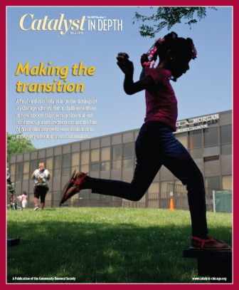 Catalyst Chicago issue cover, published Oct 2013
