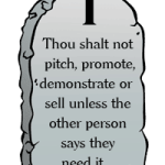1st Commandment of Selling