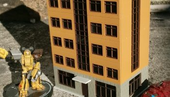 Small-Scale Building Commissions – Chicago Skirmish Wargames