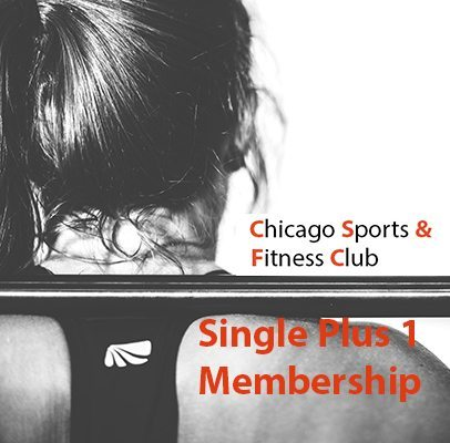 Chicago Sports & Fitness Club - Gym in Joliet - Single Plus 1 Membership