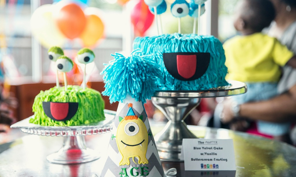 Monster Themed First Birthday Party