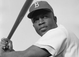 Chicago Cubs honor Jackie Robinson with #42 in Cubbie blue