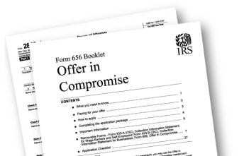 IRS Form 656 OIC Booklet (Graphic)