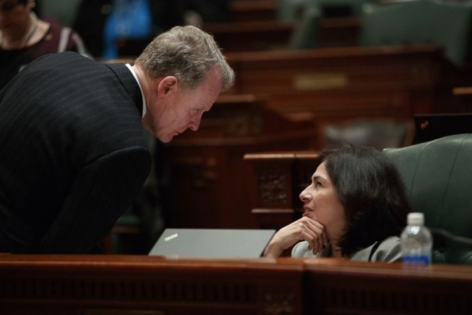 Embattled Illinois House Speaker Michael Madigan gets backing for reelection from majority of Latinx Caucus