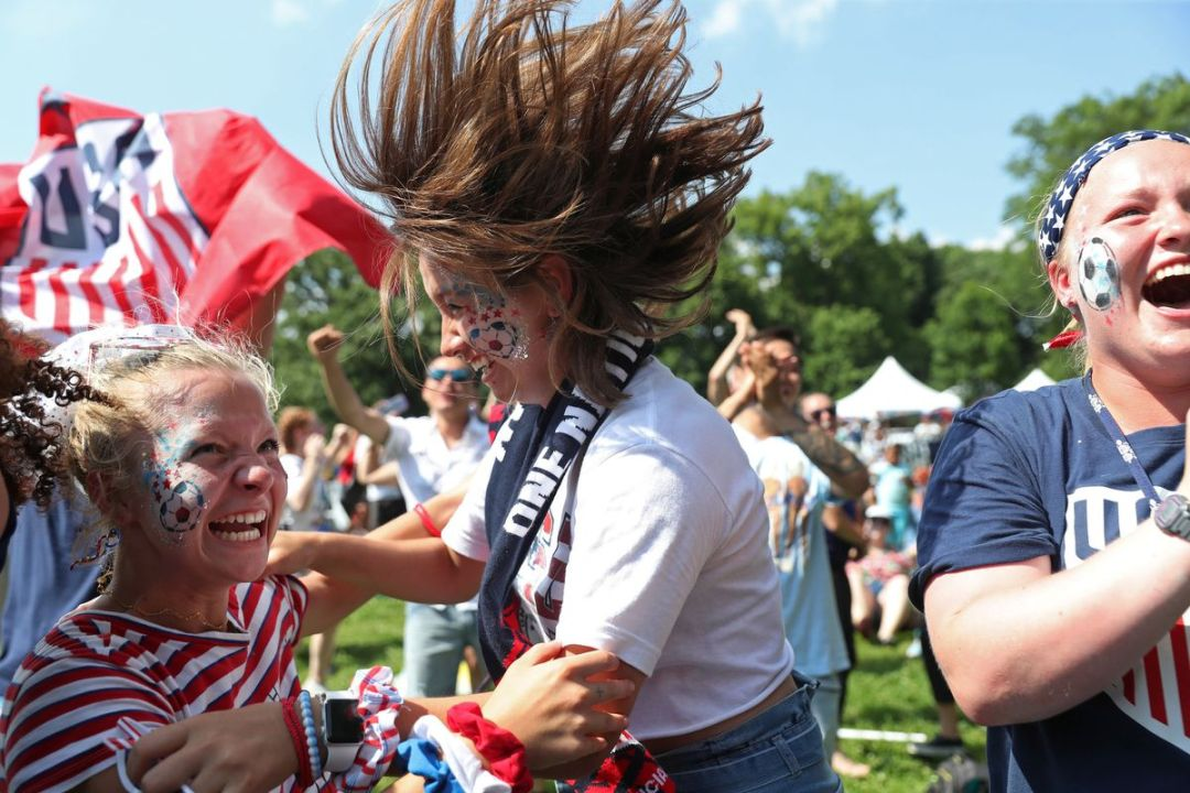 World Cup viewing party in Lincoln Park inspires young soccer players to 'dream a bit more'