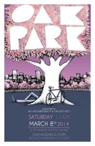 Tour of Oak Park 2014 Poster by Ross Felton