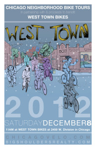 Tour of West Town 2012 Poster by Ross Felton