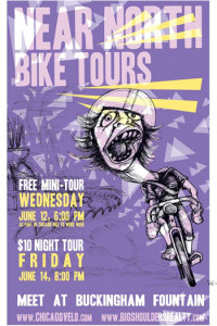 Near North Tours 2013 Poster by Ross Felton