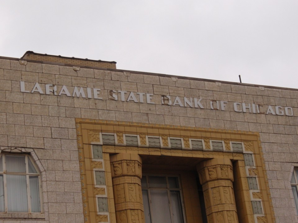 Laramie State Bank of Chicago building